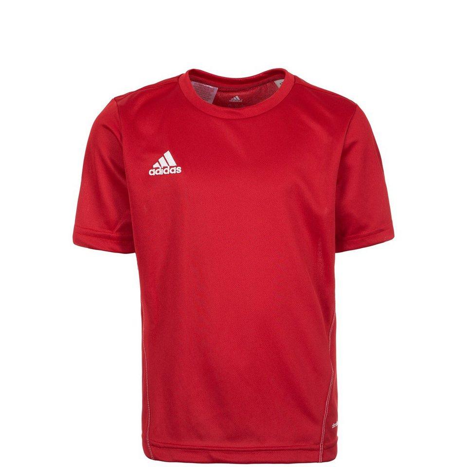 adidas Performance Core 15 Trainingsshirt Kinder in rot / weiß