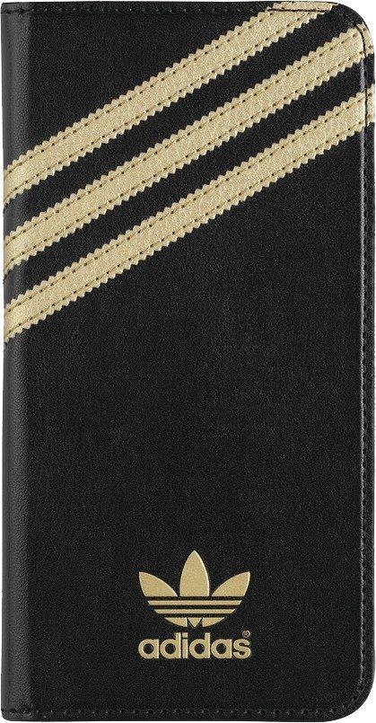 Adidas Originals Eleganter Rundum-Schutz für das iPhone 6 Plus »Premium Booklet« in schwarz