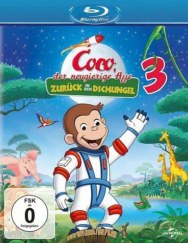 Blu-ray »Coco, der neugierige Affe 3 - Zurück in den...«