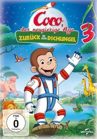 DVD »Coco, der neugierige Affe 3 - Zurück in den...«