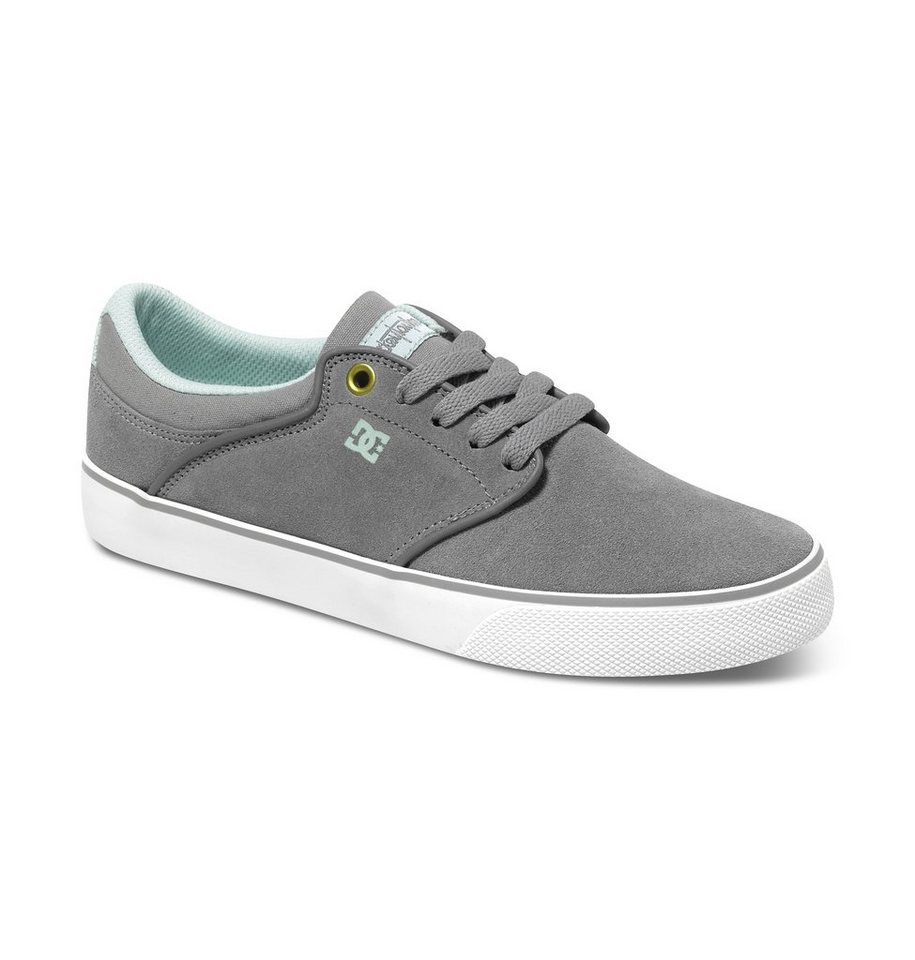 DC Shoes Low Top Schuhe »Mikey Taylor Vulc« in Grey / white / grey