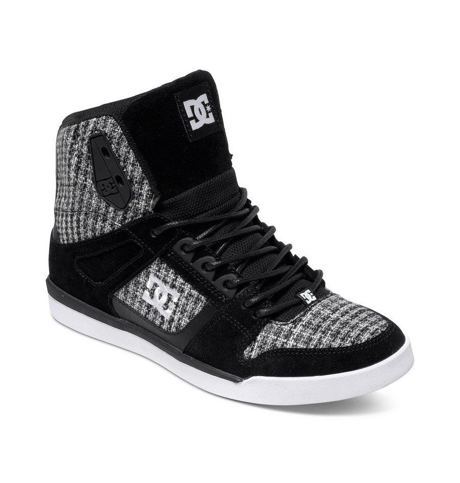 DC Shoes Hi Shoe »Rebound Slim High Se« in Black / white