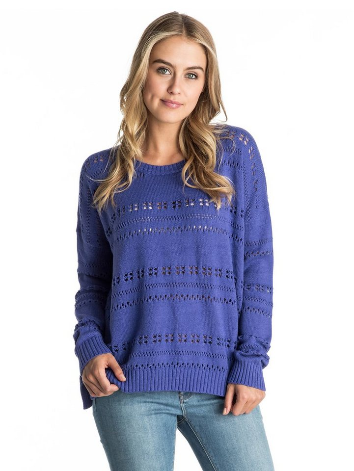 Roxy Rundhals-Sweater »Horizon Fine« in Spectrum blue