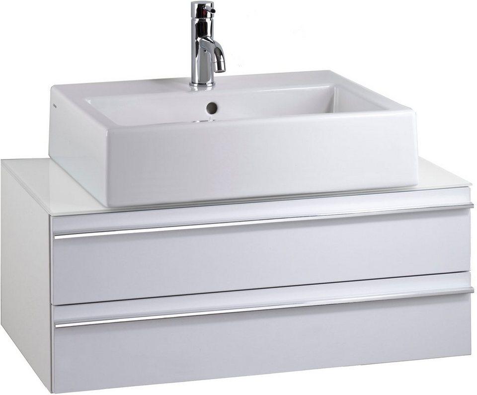 Waschtisch »Sleek« in weiß-weiß