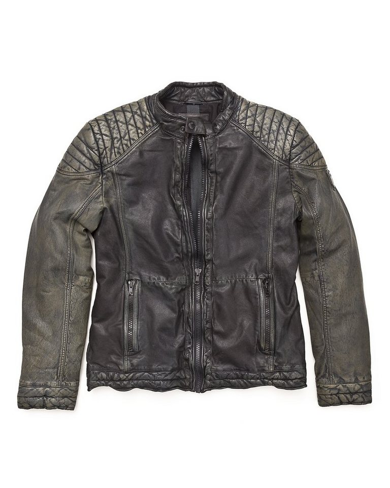Mustang Lederjacke, Herren »Warren« in used black