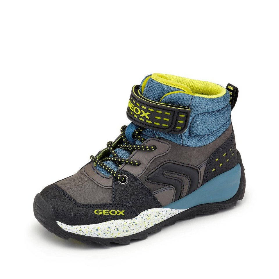 Geox Bootie in anthrazit/petrol