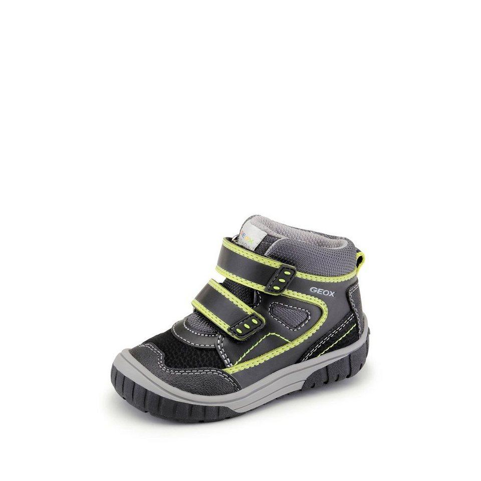 Geox Lauflernschuh in schwarz/gelb