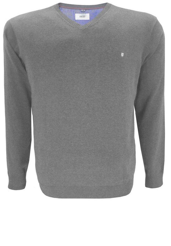 greyes Pullover in Grau