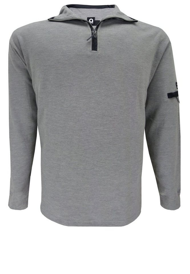 aero Sweater in Grau