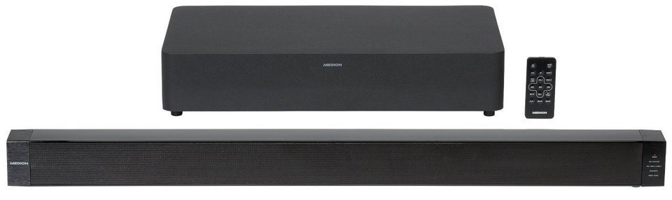 MEDION® 2.1 Bluetooth Soundbar mit Funk-Subwoofer »LIFE® P65088 (MD 84731)« in schwarz