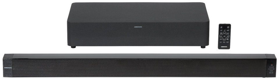 MEDION® 2.1 Bluetooth Soundbar mit Funk-Subwoofer »LIFE® P65088 (MD 84731)«