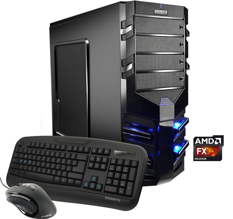Hyrican Gaming PC AMD FX-8350, 16GB, 1TB + 120GB SSD, R9 390, Windows 10 »Alpha Gaming 4877«