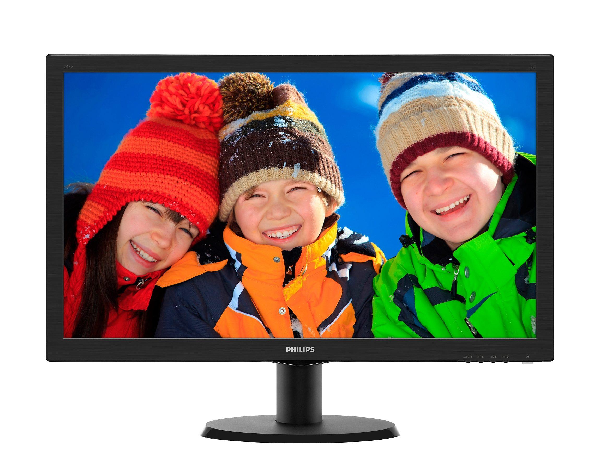 Philips Full HD Monitor, 54,6 cm (21,5 Zoll) »223V5LHSB2/00«