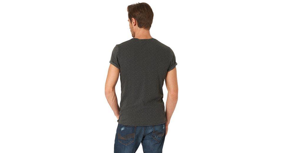 Tom Tailor Print T mit T Shirt Shirt Schriftzug Tailor Tom rTrw7qP