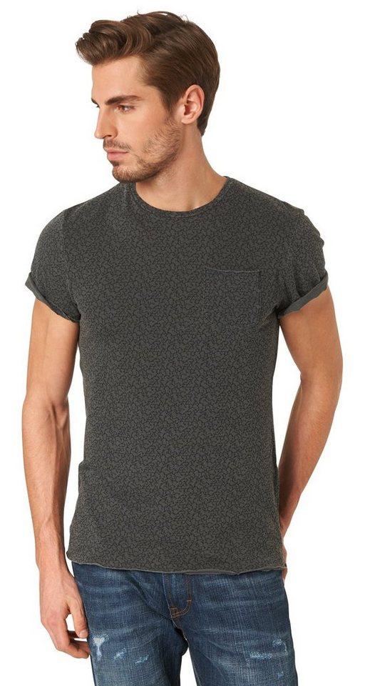 tom tailor t shirt mit schriftzug print kaufen otto. Black Bedroom Furniture Sets. Home Design Ideas