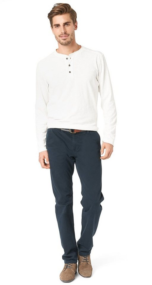 tom tailor hose chino pants with belt kaufen otto. Black Bedroom Furniture Sets. Home Design Ideas