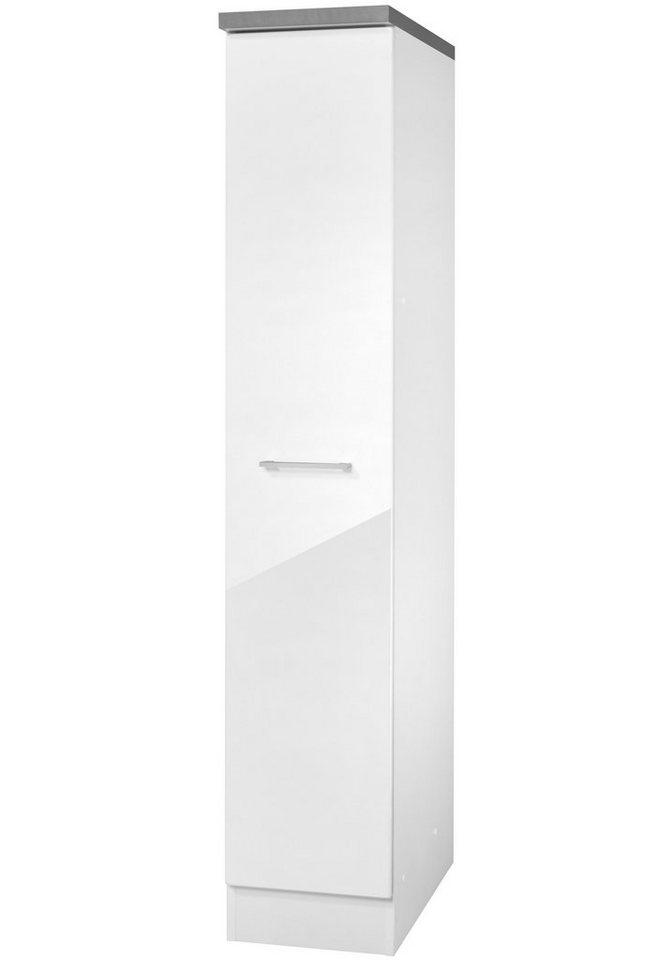 Apothekerschrank »Philadelphia«, Höhe 165 cm in eichefarben vintage/weiß