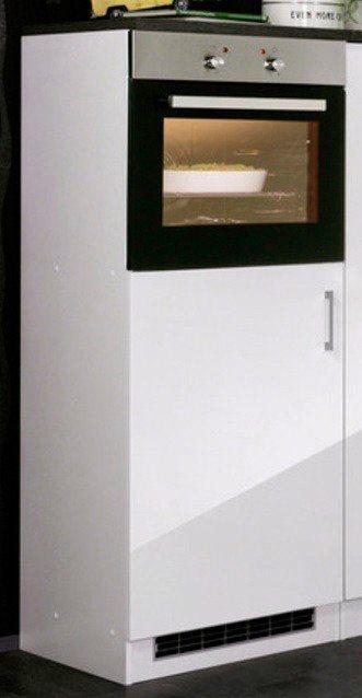 Kombinierter Backofen-Kühlumbauschrank »Philadelphia«, Höhe 165 cm in weiß/eichefarben vintage