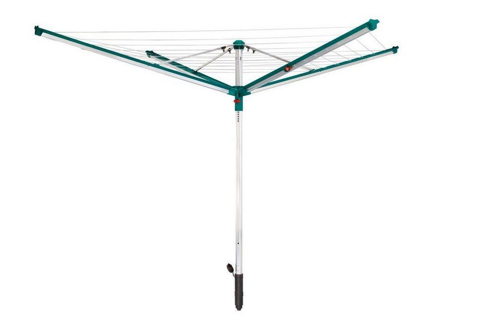 Wäschespinne »Linomatic 500 Deluxe« in grün/grau