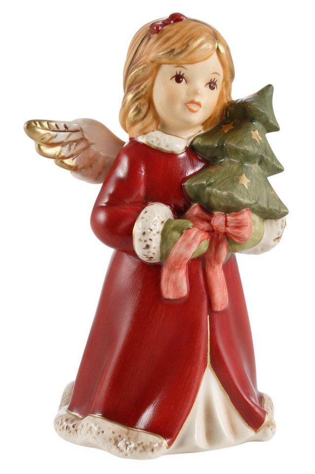 Goebel Engel, »Mein Tannenbäumchen« in rot