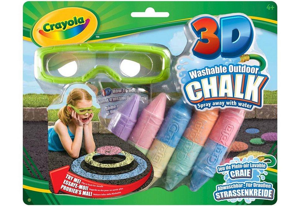 Crayola Straßenkreide »3D Effekt«