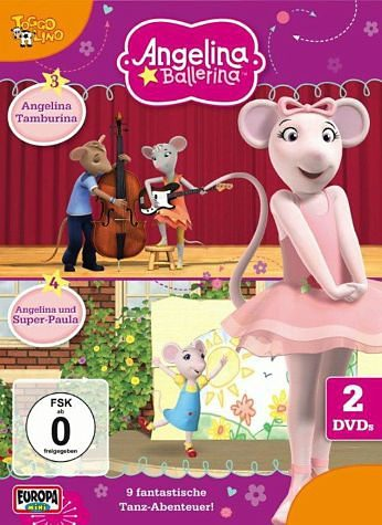 DVD »Angelina Ballerina Folge 3-4 (2 Discs)«