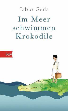 Buch mit Leinen-Einband »Im Meer schwimmen Krokodile -«