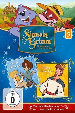 DVD »SimsalaGrimm 5 - Hänsel & Gretel / König...«