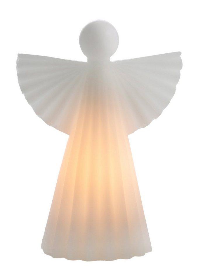 Wachs-Engel (2tlg.) in weiß