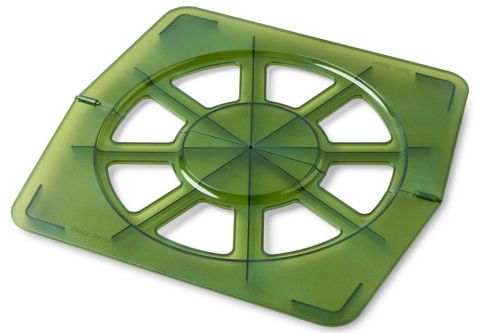 Betty Bossi Croissant Schablone gross in grün