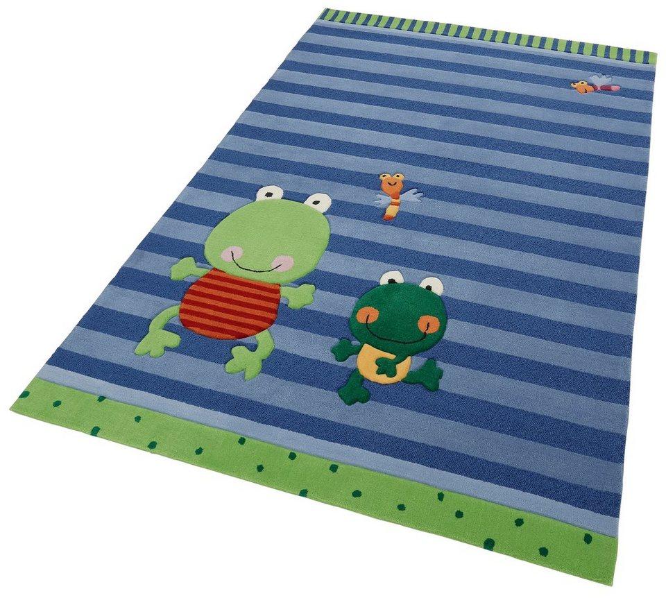 Kinder-Teppich, Sigikid, »Susi Sumpfhose«, handgetuftet in blau