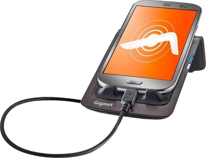 Gigaset LM550 - Mobile Dock für Android in schwarz