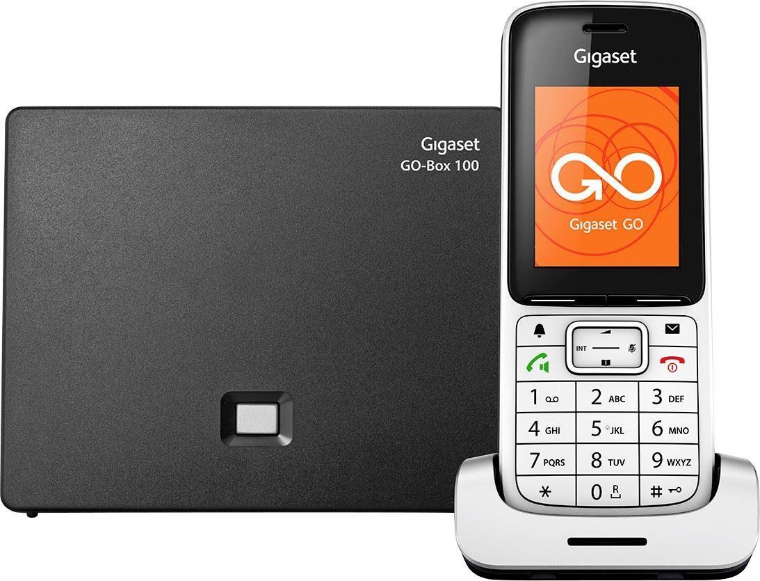 Gigaset SL450 A GO Schnurloses DECT Telefon mit CAT-iq Technik und AB