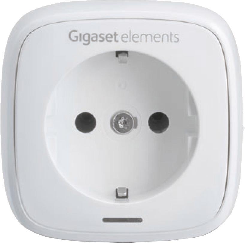 Gigaset elements plug Schaltsteckdose in weiß