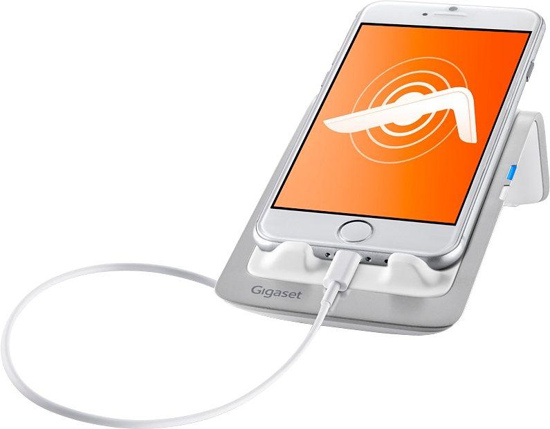 Gigaset LM550 i - Mobile Dock für iOS in weiß