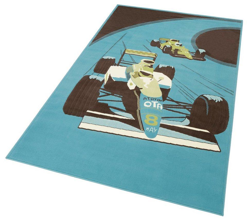 Kinder-Teppich, Trend Teppiche, »Fantasia 700870« in blau