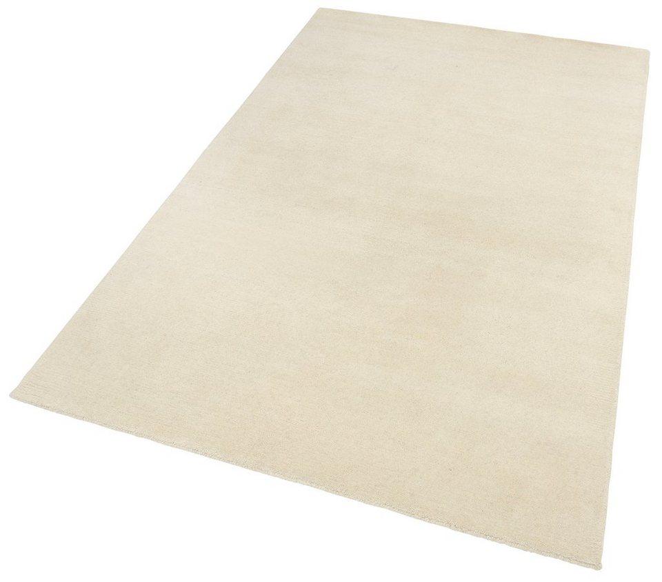 Teppich »Nakarta 1«, Theko, rechteckig, Höhe 16 mm in weiß