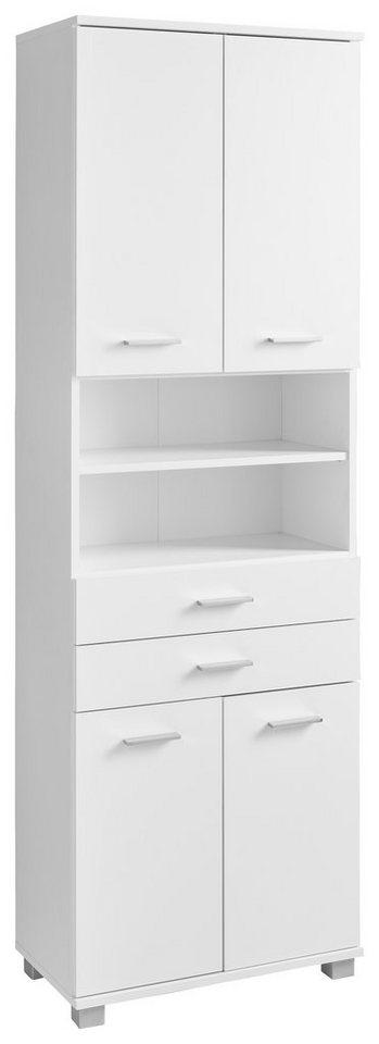 Schildmeyer Hochschrank »Vigo« in weiß-weiß