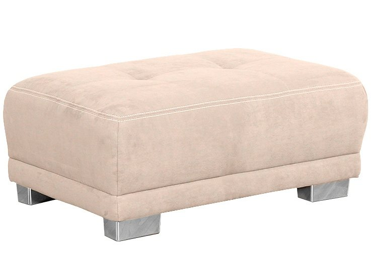 Sit & More Hocker in creme