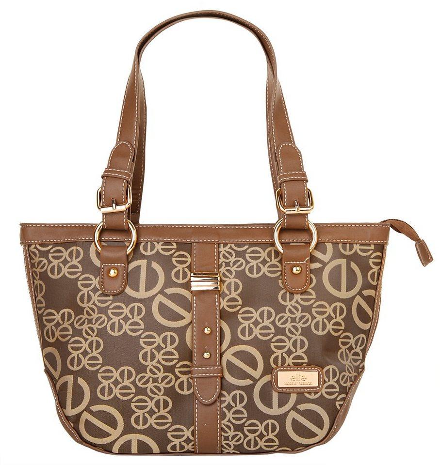 ELITE MODEN Damen Handtasche in braun