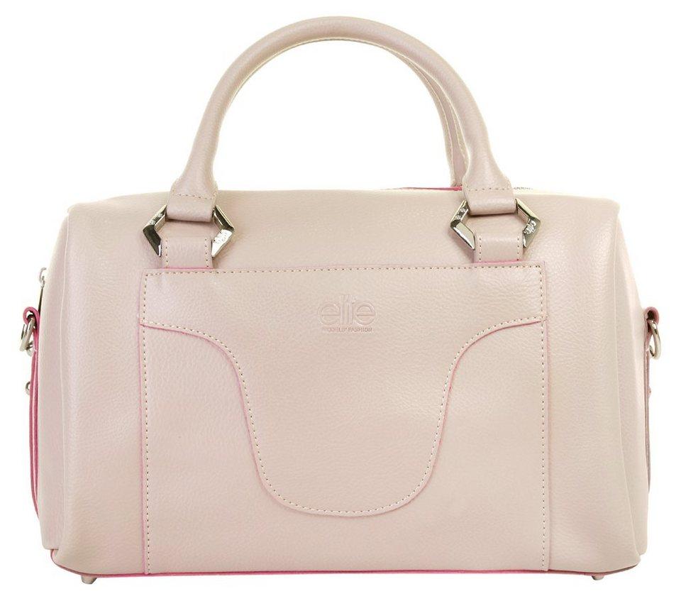 ELITE MODEN Damen Handtasche in alt-rosa