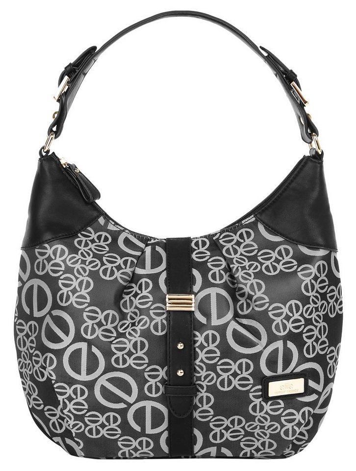 ELITE MODEN Damen Handtasche in schwarz