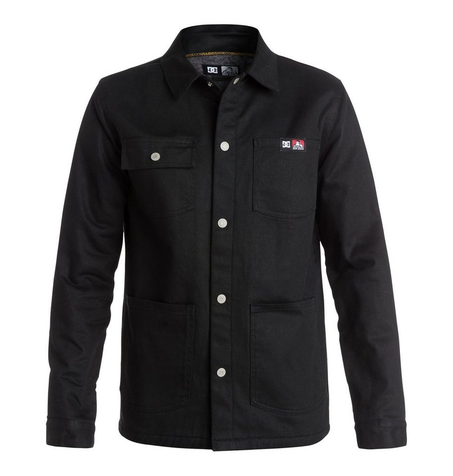 DC Shoes Jacke »Dcbd Front Snap Canvas« in Black