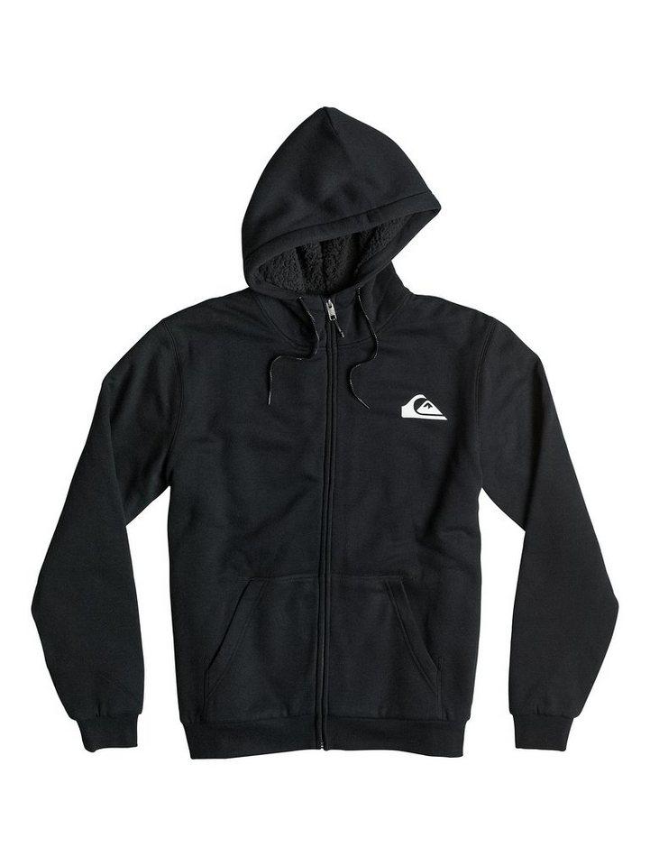 Quiksilver Sherpa Zip-Hoodie »Everyday Sherpa« in Anthracite