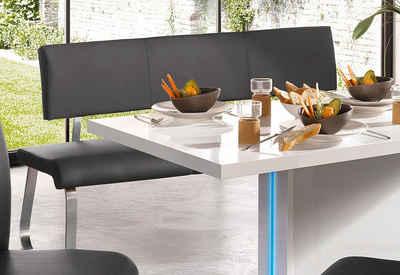 MCA furniture Polsterbank »Arco« (1-St), belastbar bis 280 kg, Kunstleder, in verschiedenen Breiten
