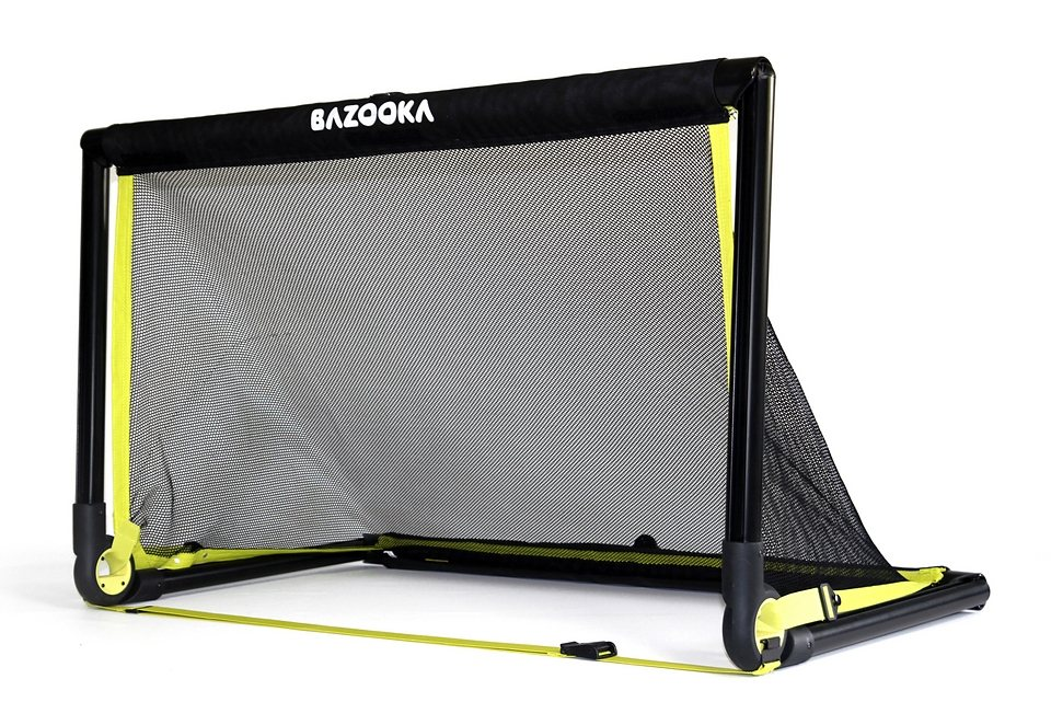 Bazookagoal Fußballtor in schwarz-gelb