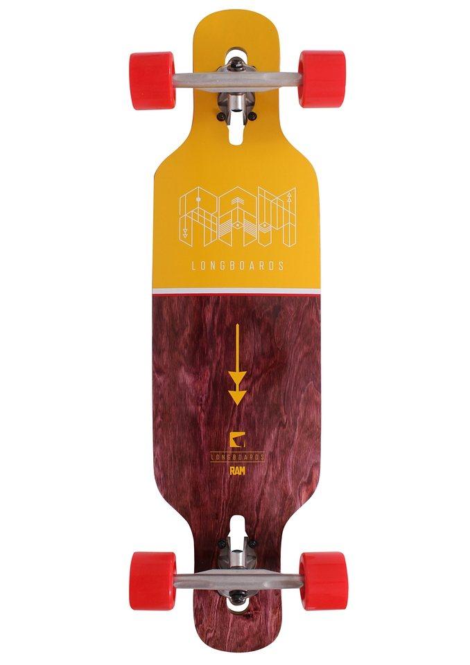 Ram Longboard, »Ciemah Micro« in mehrfarbig