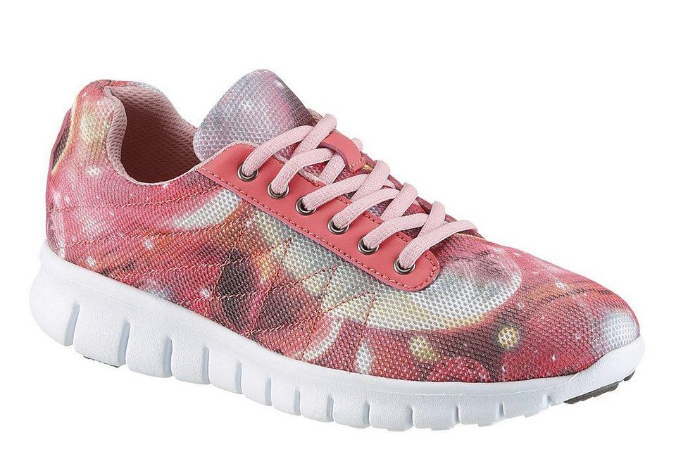 City Walk Sneaker in pink komb.
