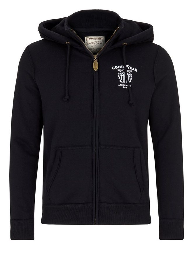 Goodyear Sweatjacke »TILSONBURG« in Black