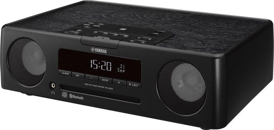 Yamaha TSX-B235 Kompaktanlage, Bluetooth, NFC, 2x USB in schwarz